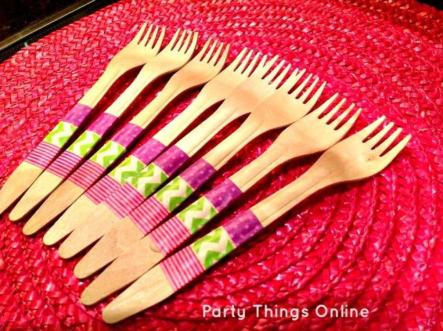washi tape cutlery2