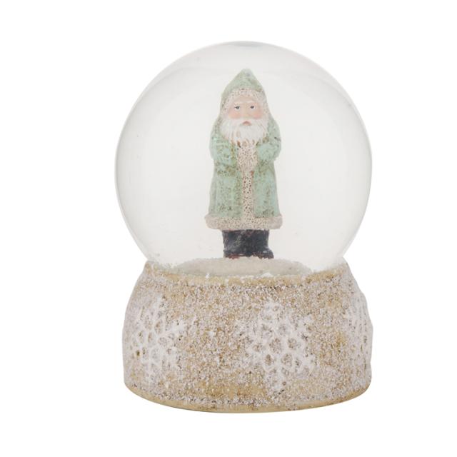 Christmas santa globe